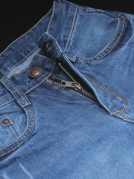 Quần jean xanh dương qj1251 - 2