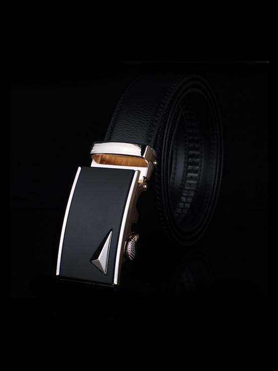 Thắt lưng nam đen tl126 - 1