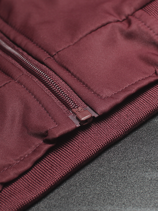 Áo khoác dù đỏ đô ak138 - 2
