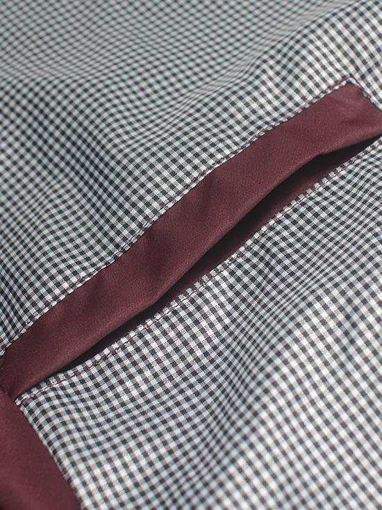 Áo khoác dù đỏ đô ak138 - 3