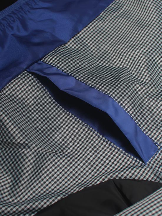 Áo khoác dù xanh bích ak138 - 2