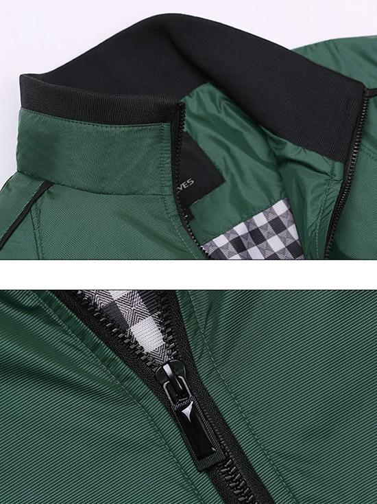 Áo khoác dù xanh rêu ak137 - 2