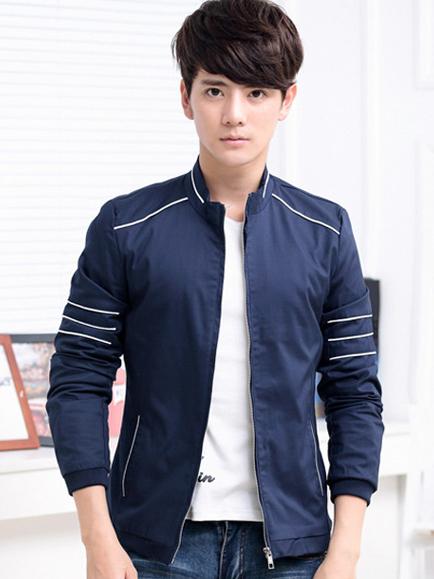 Áo khoác kaki xanh đen ak140 - 1