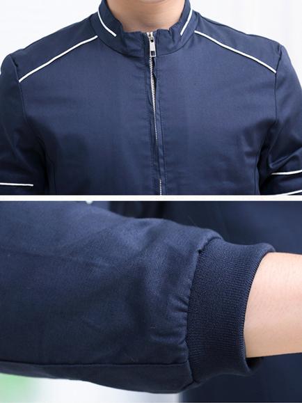 Áo khoác kaki xanh đen ak140 - 2