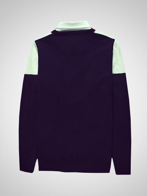 Áo len xanh đen al61 - 2