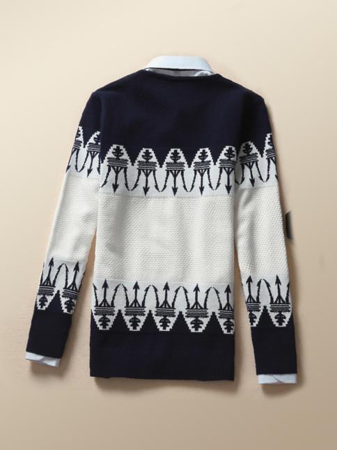 Áo len xanh đen al66 - 2