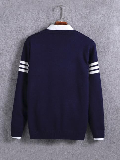Áo len xanh đen al67 - 2