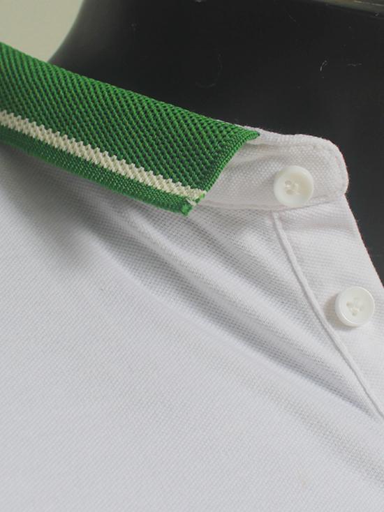Áo thun cá sấu trắng at547 - 3
