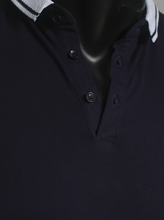 Áo thun cá sấu xanh đen at547 - 2