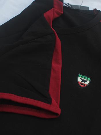 Áo thun đen at549 - 2