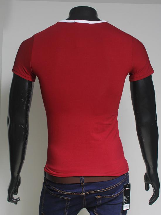 Áo thun đỏ đô at548 - 2