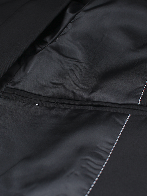 Áo vest cao cấp đen av2l1078 - 3