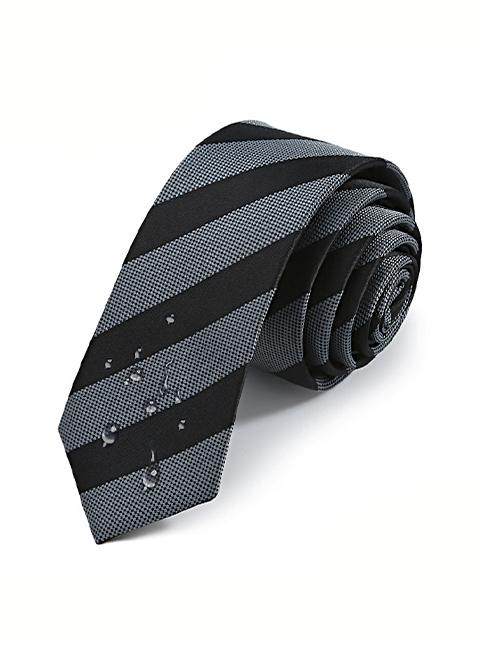 Cà vạt hàn quốc đen cv13 - 1