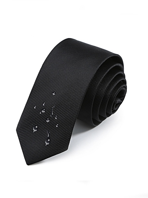Cà Vạt Hàn Quốc Đen CV23