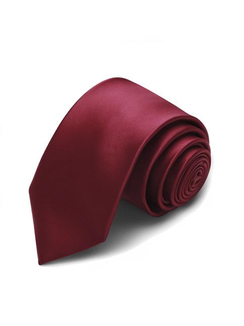 Cà vạt hàn quốc đỏ cv19 - 1