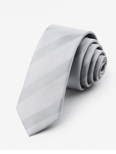 Cà vạt hàn quốc trắng cv13 - 1