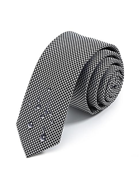 Cà vạt hàn quốc xám cv17 - 1