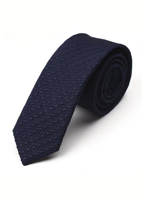 Cà vạt hàn quốc xanh đen cv11 - 1
