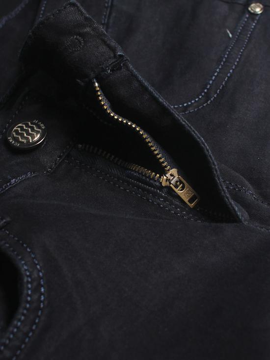 Quần jean skinny xanh đen trơn qj1238 - 2