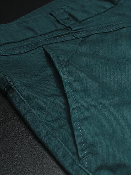 Quần kaki hàn quốc xanh cổ vịt qk134 - 2