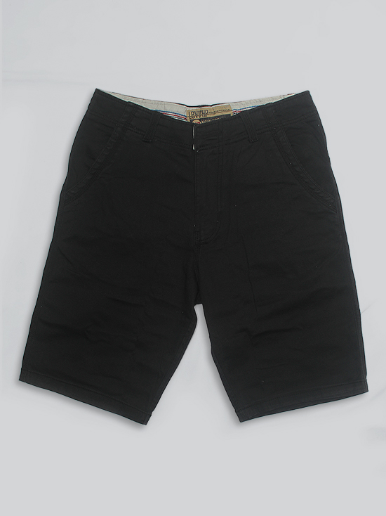 Quần short kaki đen qs54 - 1