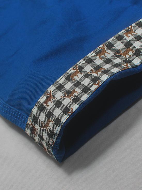 Quần short kaki xanh bích qs53 - 2