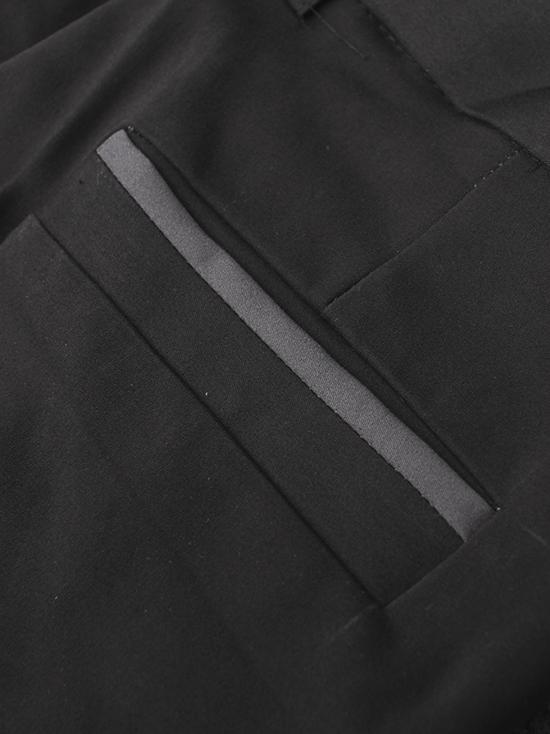Quần tây đen co giãn phối túi qt28 - 3