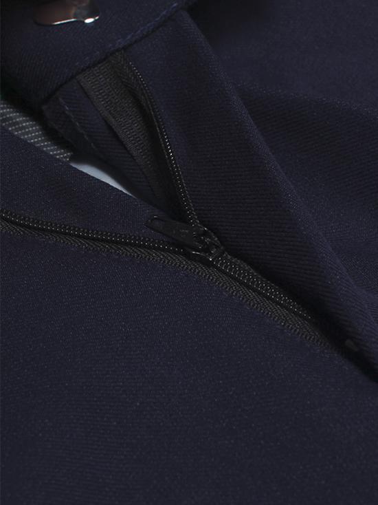 Quần tây xanh đen cao cấp co giãn qt33 - 2