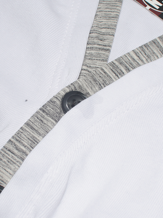 Áo khoác cardigan trắng ac086 - 2