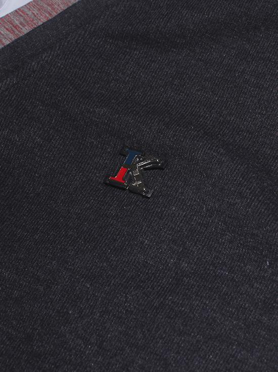 Áo khoác cardigan xám chuột đậm ac086-2 - 2