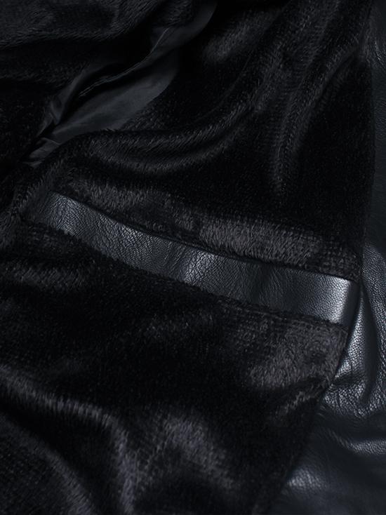 Áo khoác da đen ak142 - 2