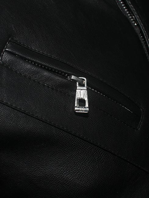 Áo khoác da đen ak147 - 2