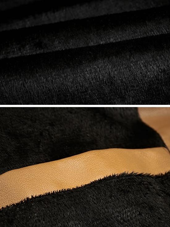 Áo khoác da màu bò ak141 - 2