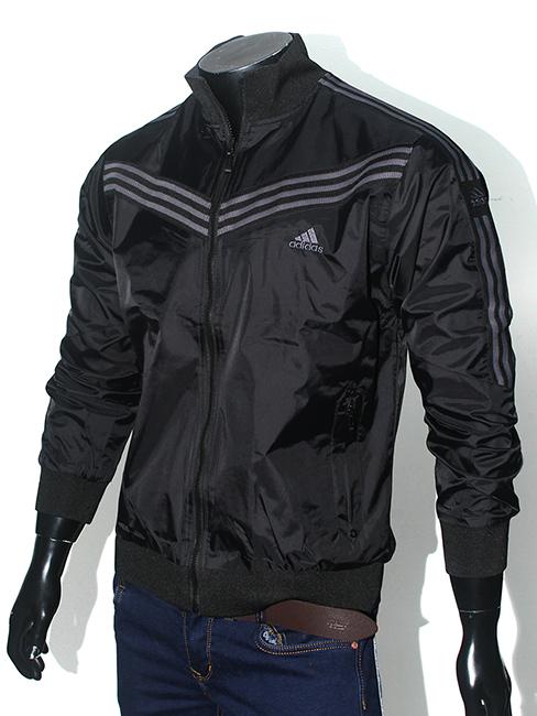 Áo khoác dù đen ak152 - 1