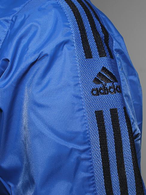 Áo khoác dù xanh bích ak154 - 3