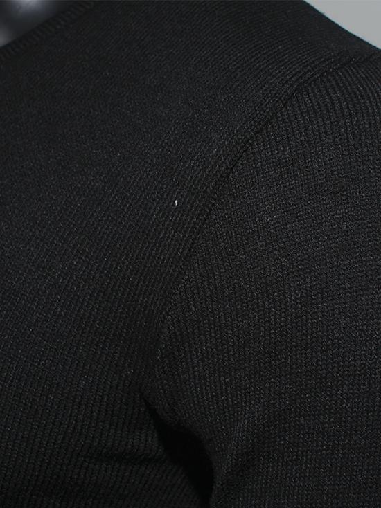 Áo len đen al80 - 2