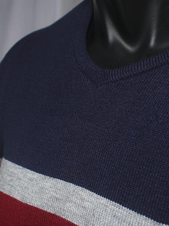 Áo len đỏ đô al75 - 2