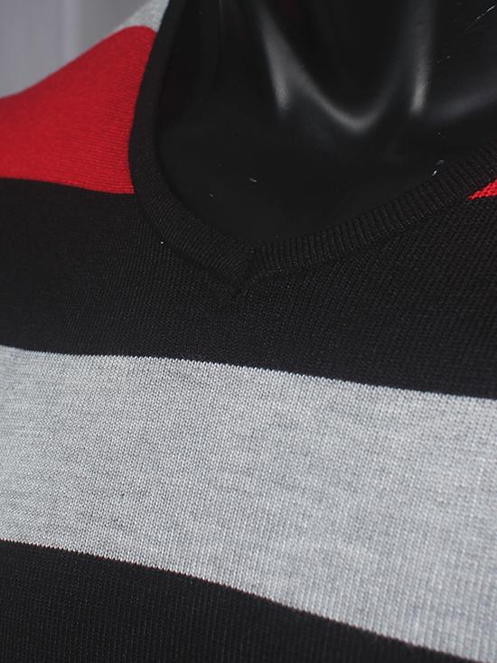 Áo len sọc đen al68 - 2
