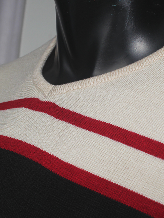 Áo len sọc đen al71 - 2