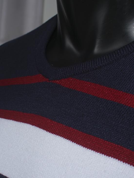 Áo len sọc trắng al71 - 2