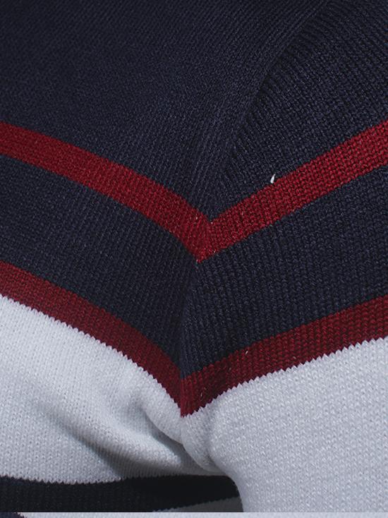 Áo len sọc trắng al71 - 3