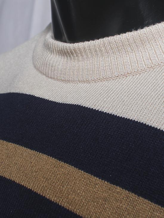 Áo len sọc xanh đen al78 - 2