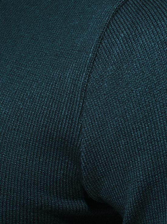 Áo len xanh cổ vịt al80 - 3