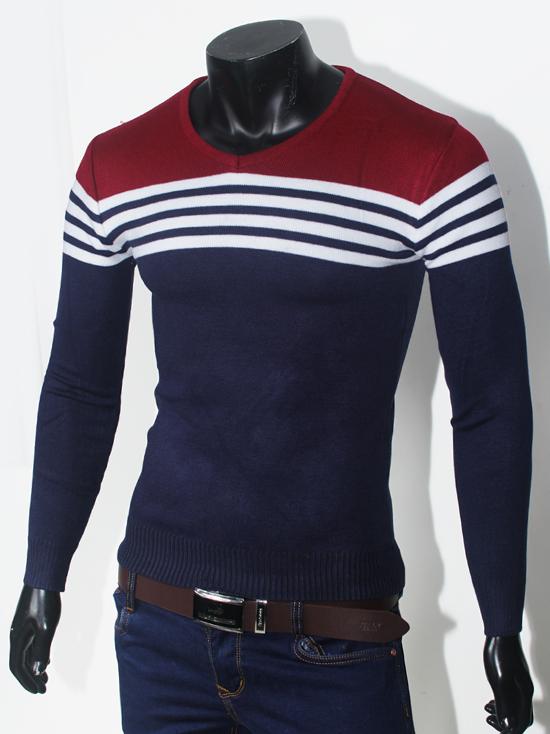 Áo len xanh đen al69 - 1