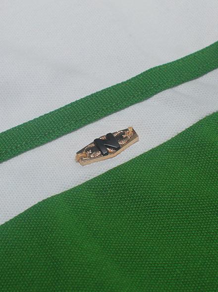 Áo thun cá sấu xanh lá cây at553 - 2