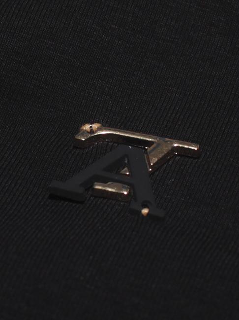 Áo thun có cổ đen at551 - 2
