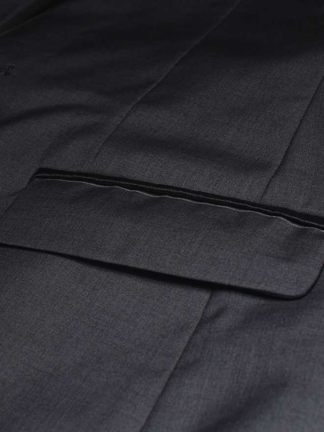 Áo vest cao cấp xám chuột av1079 - 2