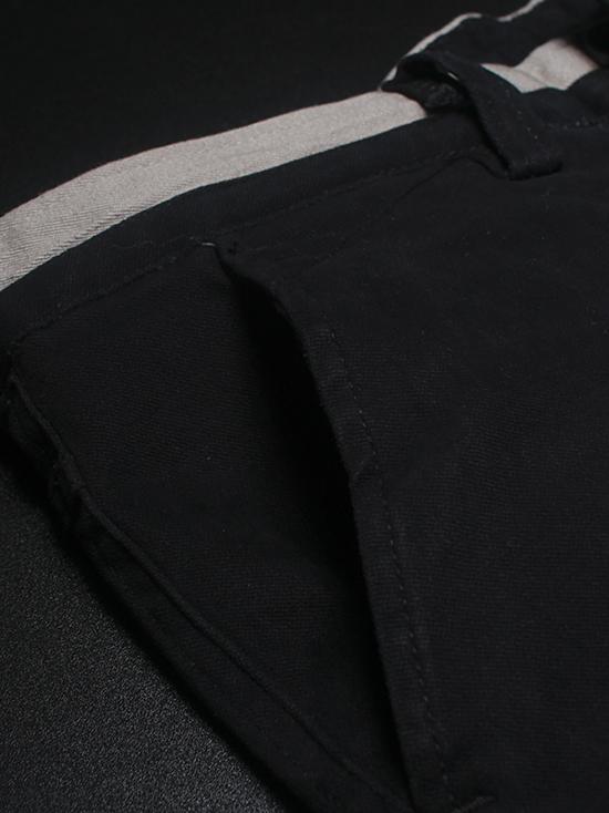 Quần kaki hàn quốc đen qk136 - 2
