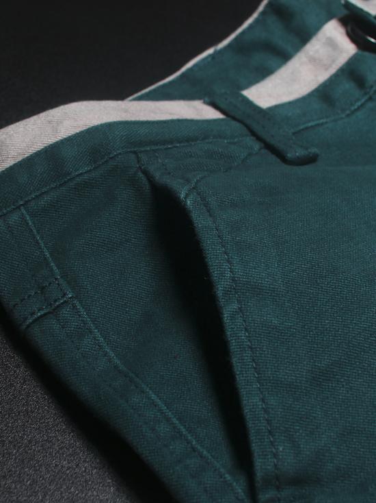 Quần kaki hàn quốc xanh cổ vịt qk136 - 2