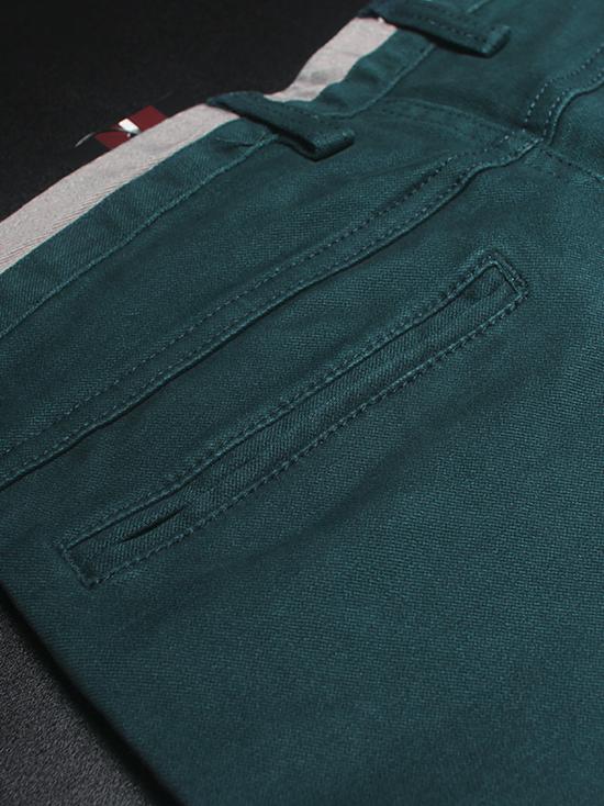 Quần kaki hàn quốc xanh cổ vịt qk136 - 3
